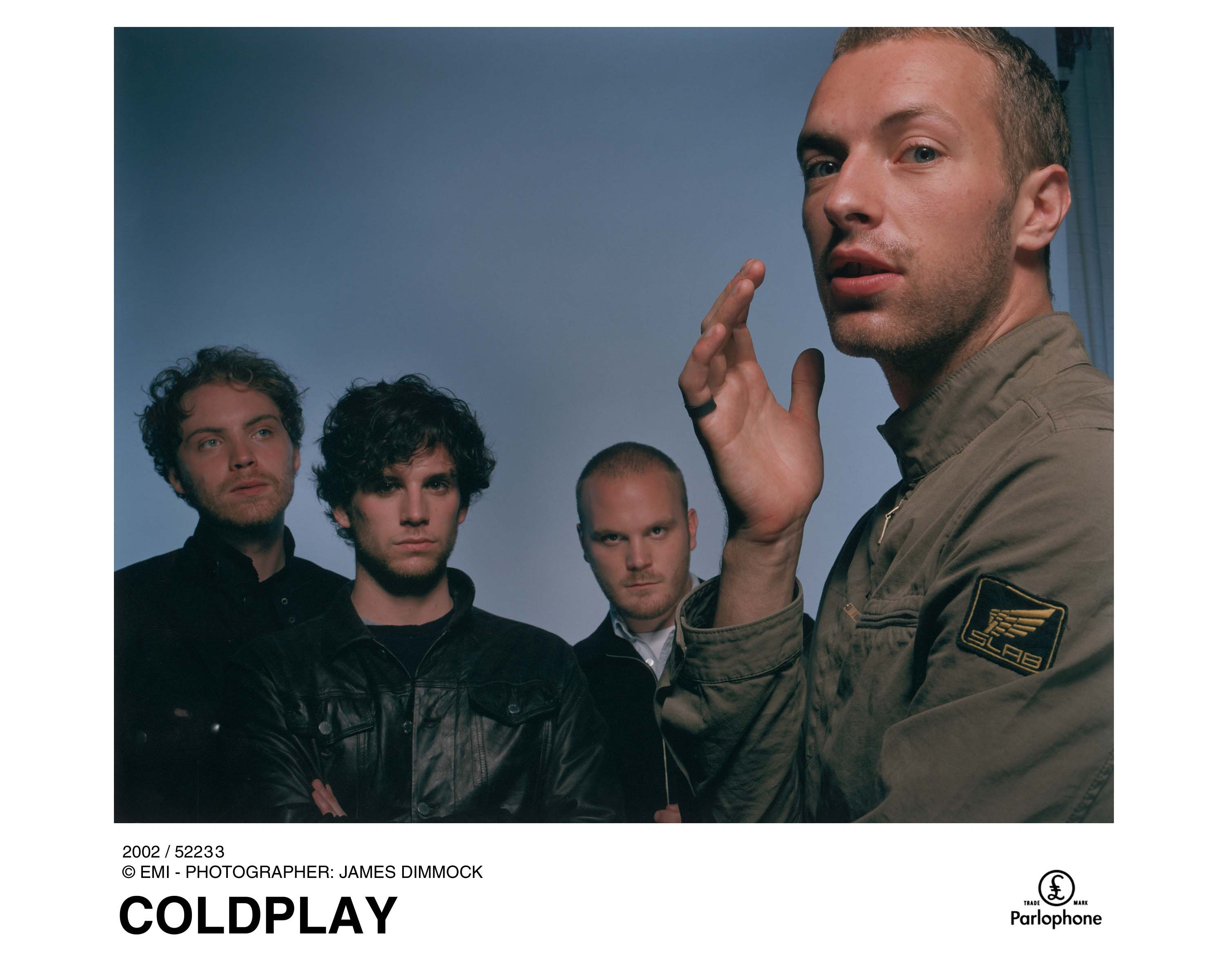 coldplay photo by permission of Capitol Records