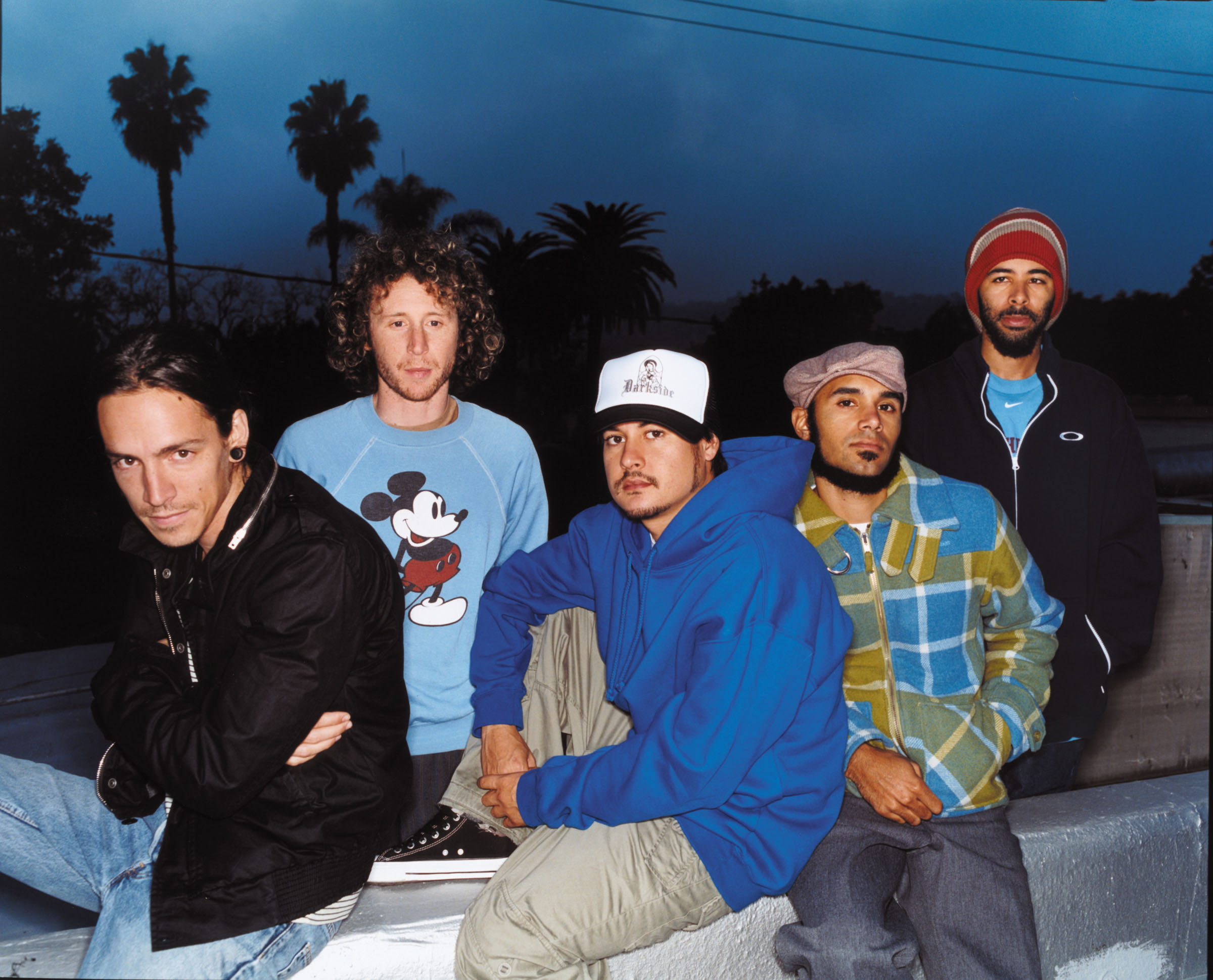 INCUBUS. [Photo used by permission of Incubus' Management & Sony Music Ent.]