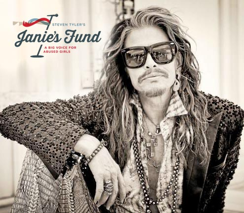 "Steven Tyler, lead singer of Aerosmith and founder of Janie's Fund""></A>