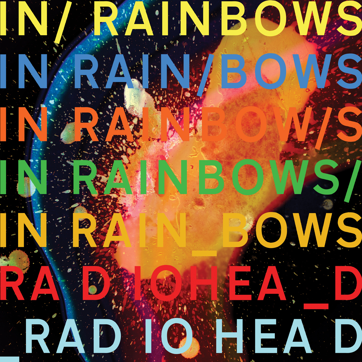 Radiohead In Rainbows, img from NLM by permission.
