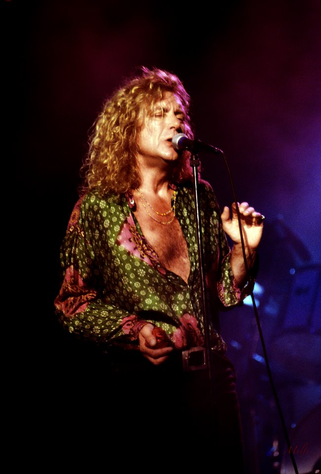 Robert Plant photo by Frank Melfi by permission